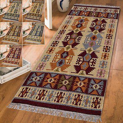 Large Runner Traditional Tribal Vintage Area Living Room Bedroom Rugs Floor Mat