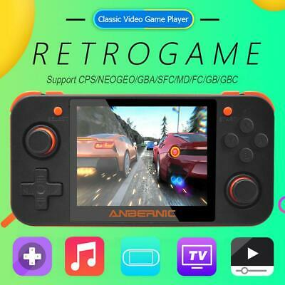 RG350 Retro Video Handheld Game Console Player 3.5'' IPS Screen 32G Rechargeable