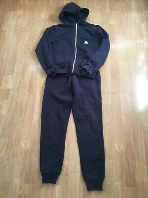 Moncler Boys Navy Tracksuit Age 12 Years Worn Good Condition Slight Fading