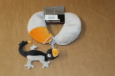 VW Travel Neck Cushion with Rob the Geko 4L0092177B New VW Merchandise item