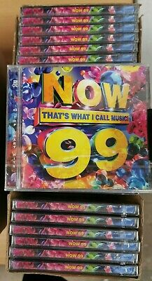 NOW Thats What I Call Music! 99 (Job Lot Wholesale x25) New & Sealed CDs