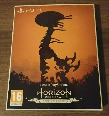 Horizon Zero Dawn Complete Edition Ps4 The Only On Playstation Collection New