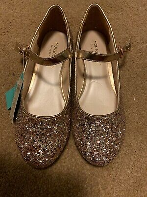 Girls Monsoon Party Shoes Size Uk 2 RRP£21
