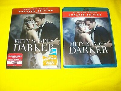 Fifty Shades Darker Bluray & Dvd With Digital Copy And Slipcover