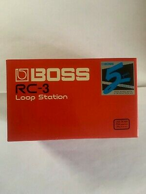 Boss RC-3 Loop Station Effects Pedal - LIGHTY USED - FULLY FUNCTIONAL!