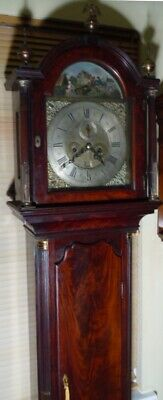 "Antique Mahogany "" Bourton ""  Automation  Dial Grandfather / Longcase Clock"