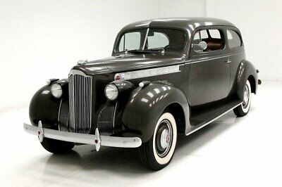 1940 Packard 110 Coupe Unrestored Rare Body Style 245ci Inline 6-Cylinder Cloth Interior