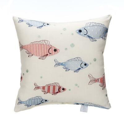 Glenna Jean Fish Tales Embroidery Throw Pillow Baby Nursery Accent Decor