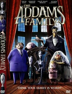 The Addams Family (2019) DVD Pre-Order Now Jan 21-2020