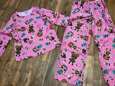 Girls Lol Surprise Flannel Pjs Age 6