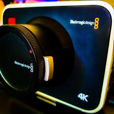 Blackmagic Design 4K Production Camera (BMPC) with 256gb Sandisk SSD