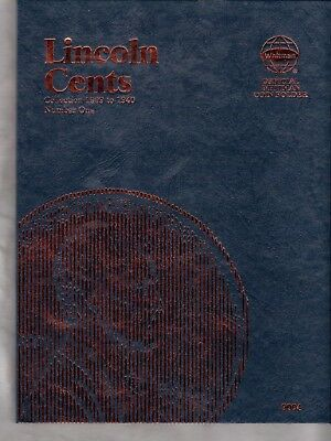 (84) Coins Lincoln Wheat Cent 1909-1940 In Whitman 3 Page Album - Book # 9004