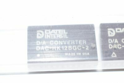 Lot of 12 NEW DATEL INTERSIL DAC-HK12BGC-2 D/A CONVERTER dip24 ceramic