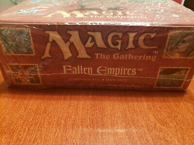 Magic The Gathering Factory Fallen Empires Expansion Set MTG Woc6505 SEALED