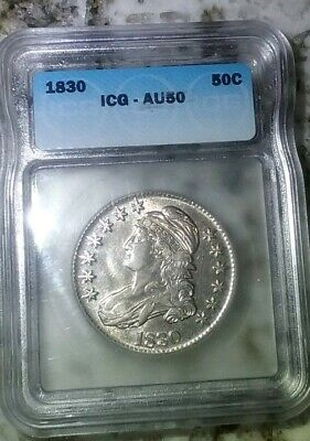 1830 Capped Bust Half Dollar