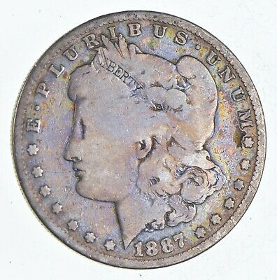 Early 1887-O Morgan Silver Dollar - 90% US Coin *101