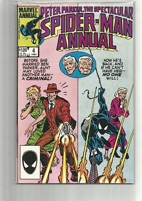 Peter Parker The Spectacular Spiderman Annual 4 / Marvel Comics