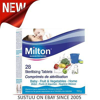 Milton Standard Sterilising Tablet│Maximum Protection Sterilising Tablets│28pk