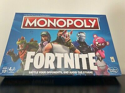 Fortnite Edition Sealed Monopoly Board Game