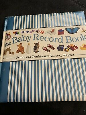 Baby Record Book FeaturingTraditional Nursery Rhymes