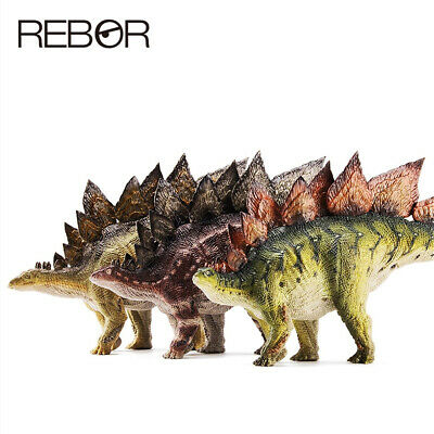 "Rebor 1:35 Scale Stegosaurus armatus ""Garden"" Woodland /""NEW IN BOX/"""