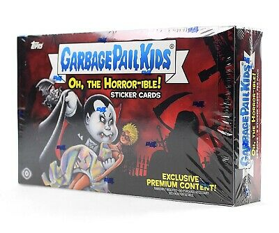 Garbage Pail Kids Oh The Horror-Ible Collector Edition Box Plate Sketch