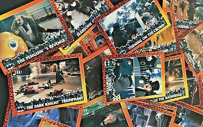 One Complete Set Of 88 Trade Cards Batman Returns