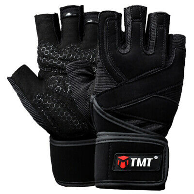 2X(Tmt Gym Weight Lifting Gloves Dumbbell Weightlifting Fitness Exercise No Z6Y7