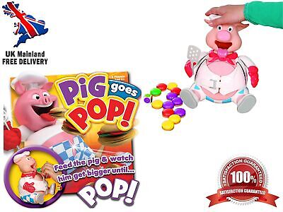 Pig Goes Pop Game With Fun-Filled Action-Packed Game From Ideal - Playset