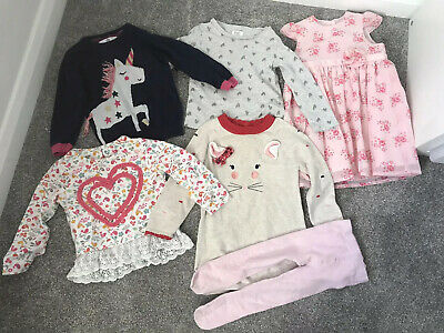 Girls age 1-2yrs Winter Bundle from mothercare TU M&S George 🦄