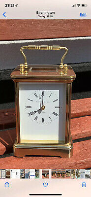 Matthew Norman Grande Corniche Eight Day Carriage Clock