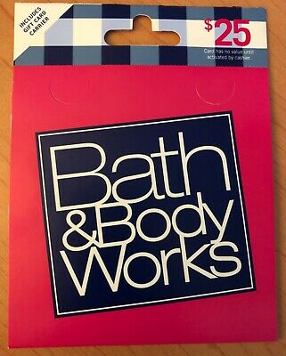 Bath and Body works Gift Card $25