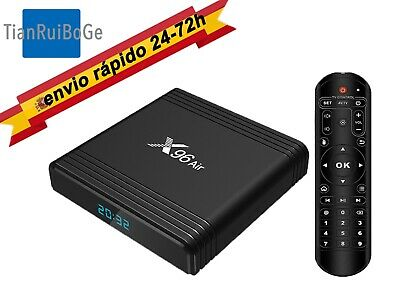 X96 Air TV BOX mini Android 9.0 Amlogic S905X3 8Kx4K 2.4G/5G WIFI BT HDR TV caja