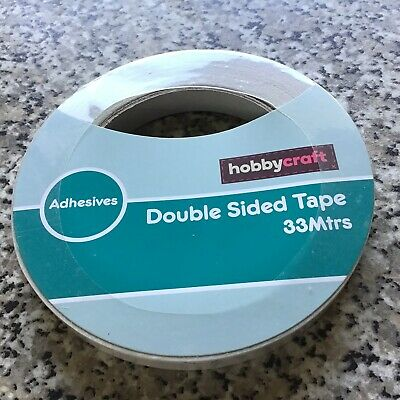 Double Sided Tape. 12mm X33 Mtrs. Hobbycraft
