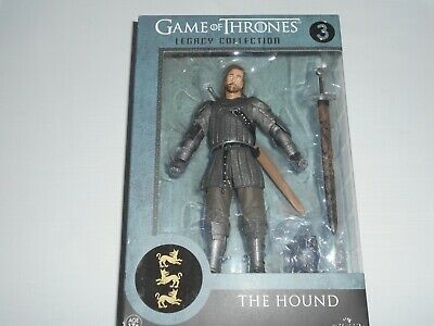 Game Thrones Trono di Spade THE HOUND IL MASTINO  figure Legacy+omaggio card