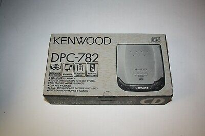 KENWOOD DPC-782 Portable CD Player NEW in BOX