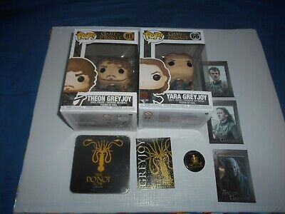 Game of Thrones Trono di Spade lotto GREYJOY Theon,Yara Funko pop figure e altro
