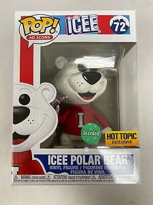 FUNKO POP! AD ICONS ICEE POLAR BEAR GRAPE Scented  Hot Topic Exclusive IN Hand