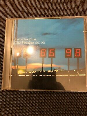 Depeche Mode - The Singles 86 98 (Mute Records 1998 2CD's) Great Condition