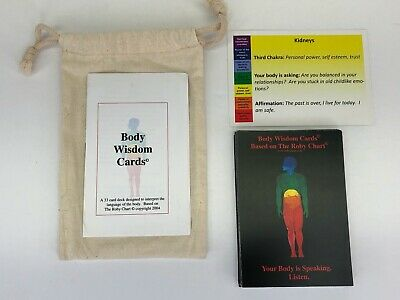 Body Wisdom Cards Based on The Roby Chart Chakra Body Healing Complete 33 Cards