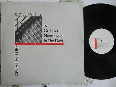 Orchestral Manoeuvres in the Dark Architecture & Morality LP 1981 *EX/MINT*INNER
