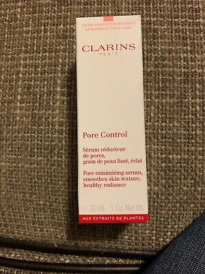 CLARINS PORE Control  Serum For Smooth Skin New In Box 30 Ml