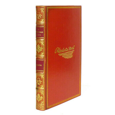 1843 A CHRISTMAS CAROL by Charles Dickens Fine Binding by RIVIERE Original