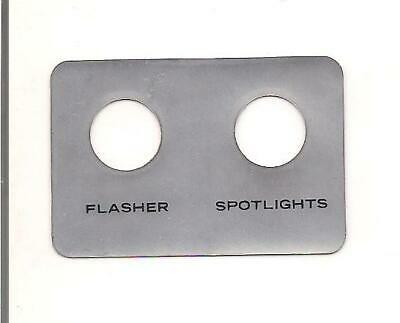 For HARLEY DAVIDSON STYLE - FLH 1970 TO 1984, FLASHER SPOT LITE DECAL 67840-70