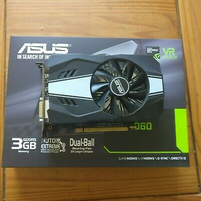 ASUS GeForce GTX 1060 Phoenix 3GB GDDR5 Graphics Card GPU