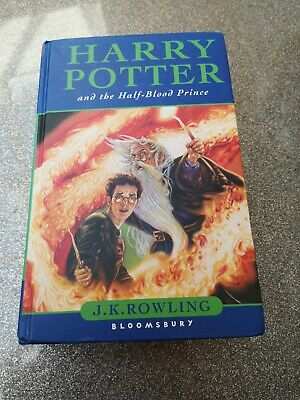 Harry Potter And The Half-Blood Prince Hardback Book First Edition 2005