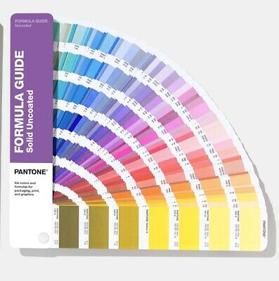 Pantone Solid Uncoated Color Guide