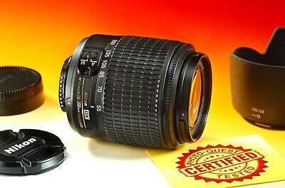 ***EXCELLENT*** NIKON DX AF-S NIKKOR 55-200mm f/4.0-5.6 G ED Zoom Lens 6297004