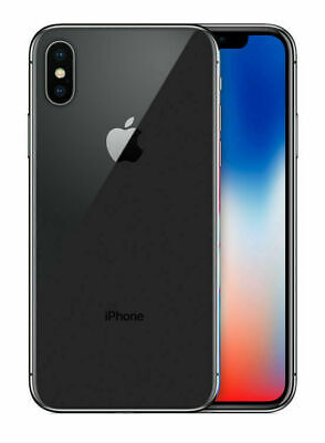 Apple iPhone X - 64GB - Space Gray (AT&T) A1901 (GSM) Unlocked