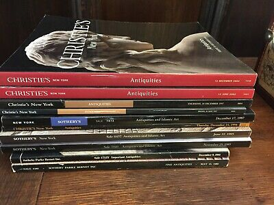 Sothebys and Christies Antiquities auction catalogs